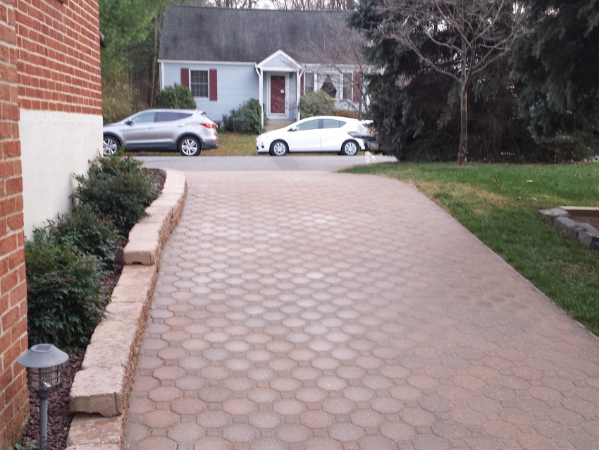 Restoration of Driveway
